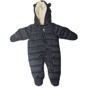 George Hooded Fleece Lined Snow Suit 3-6